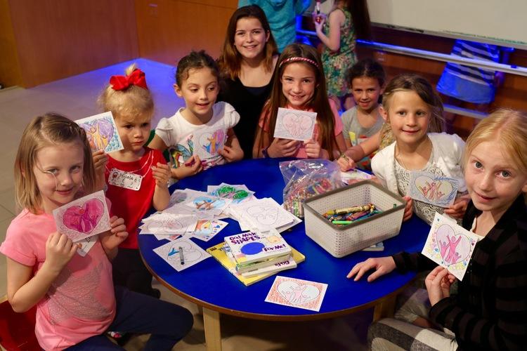 children w cards